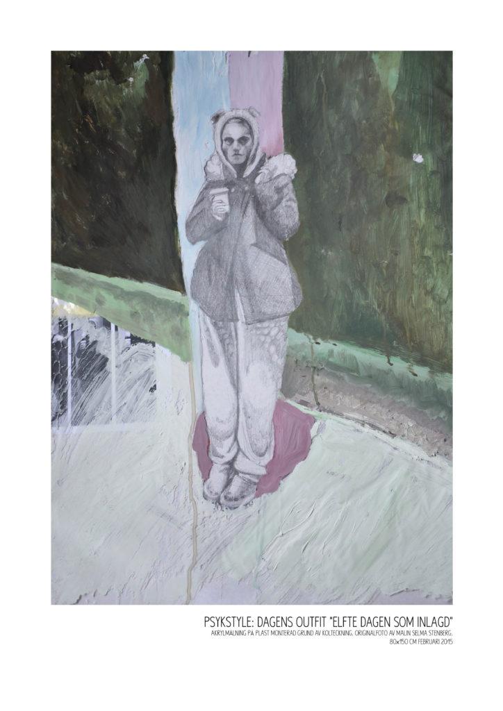 PSYKSTYLE Camilla Hammarin porträtterar Malin Selma