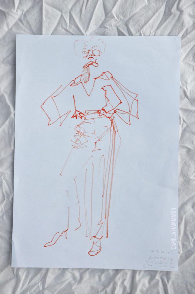 Accessoaren och människan: Janelle i 70tals-dress