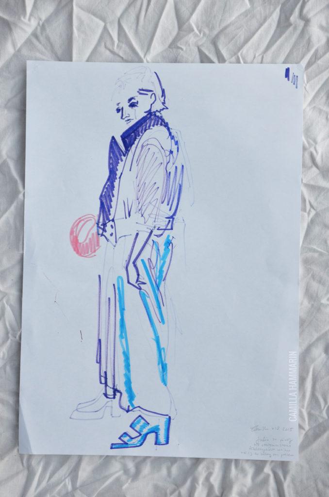 Accessoaren och människan: Julia med skinnjackan och ballongen
